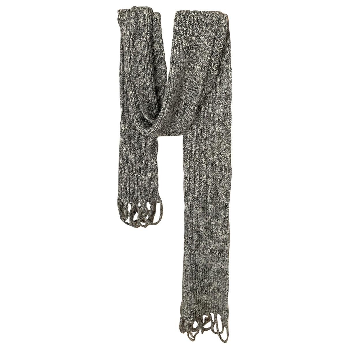 Dior Homme \N Tuecher, Schal in  Silber Wolle