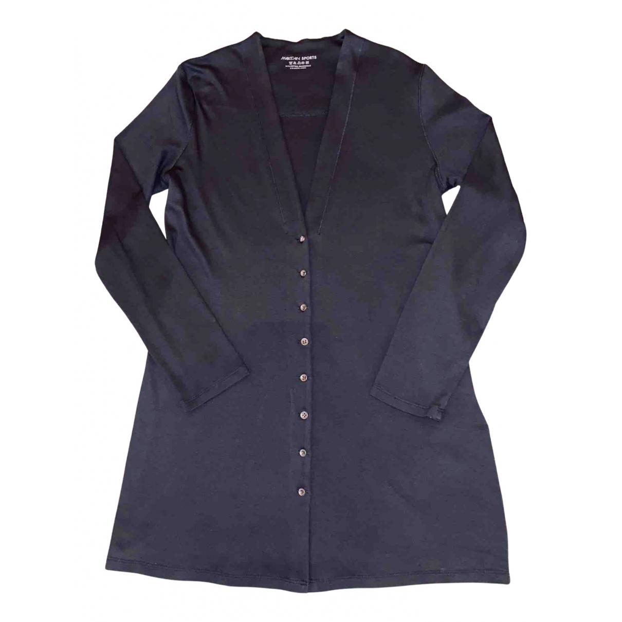 Marc Cain N Grey Cotton Knitwear for Women M International