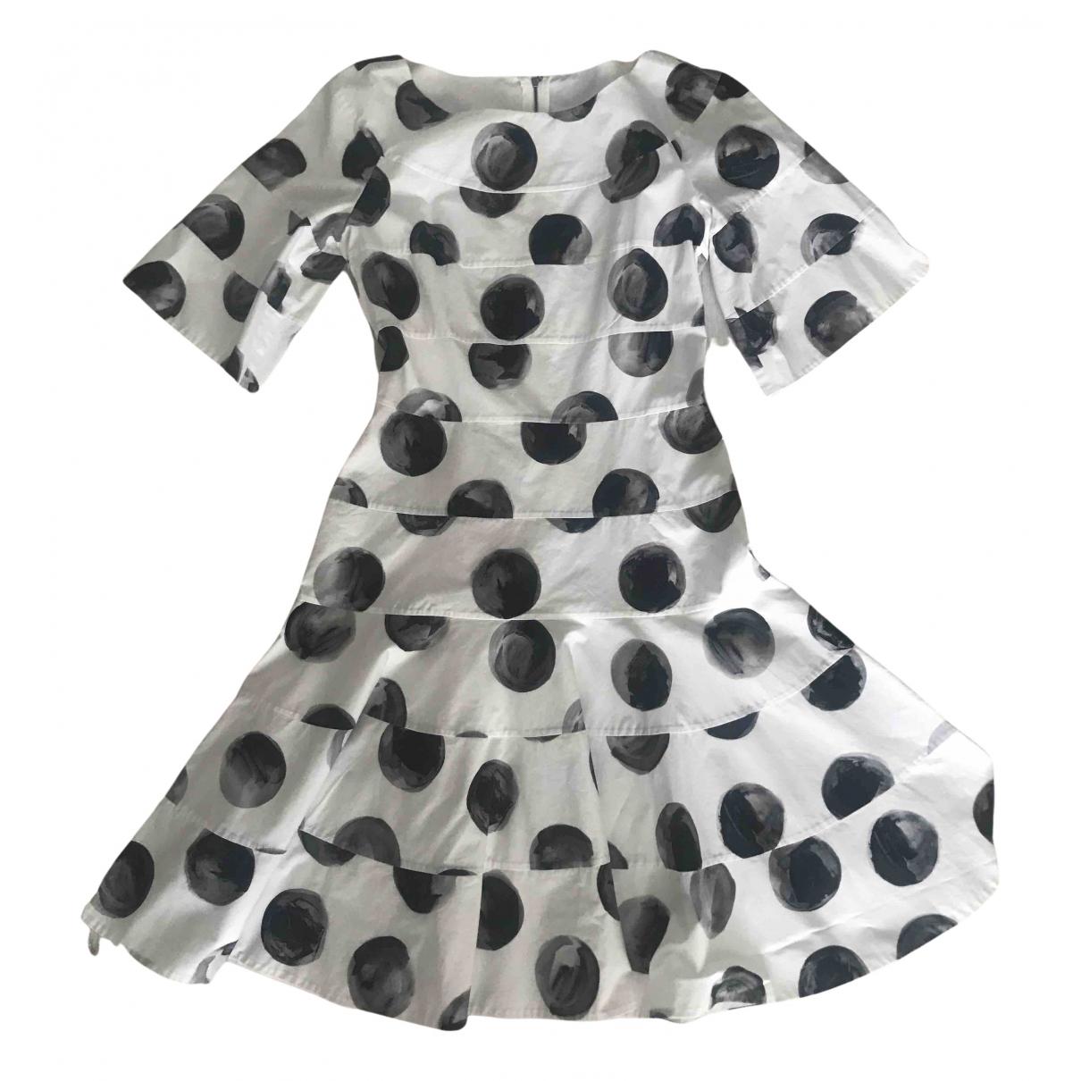 Dolce & Gabbana N White Cotton dress for Women 40 IT