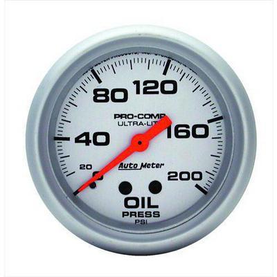 Auto Meter Ultra-Lite Mechanical Oil Pressure Gauge - 4422