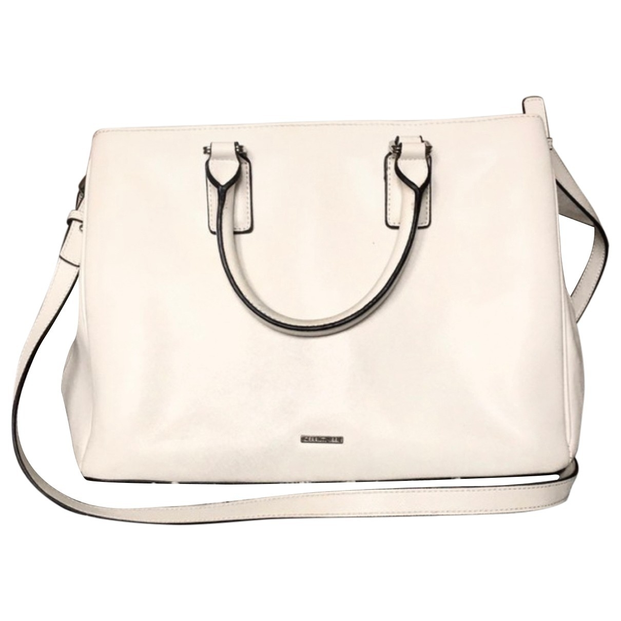 Cerruti \N White Leather handbag for Women \N