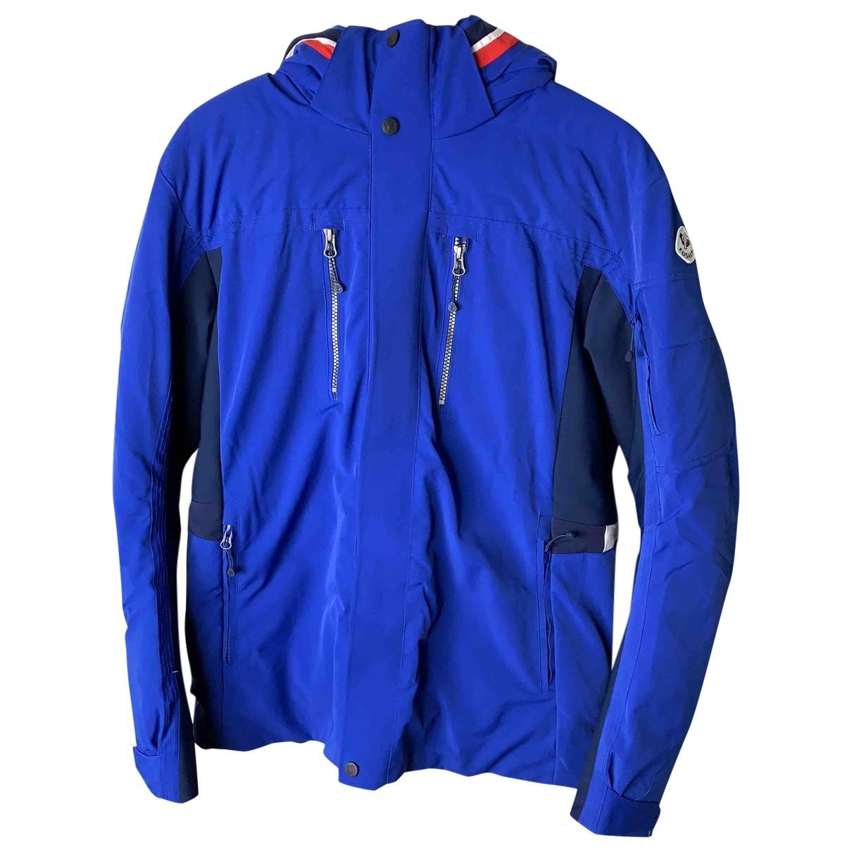 Fusalp - Manteau   pour homme - bleu