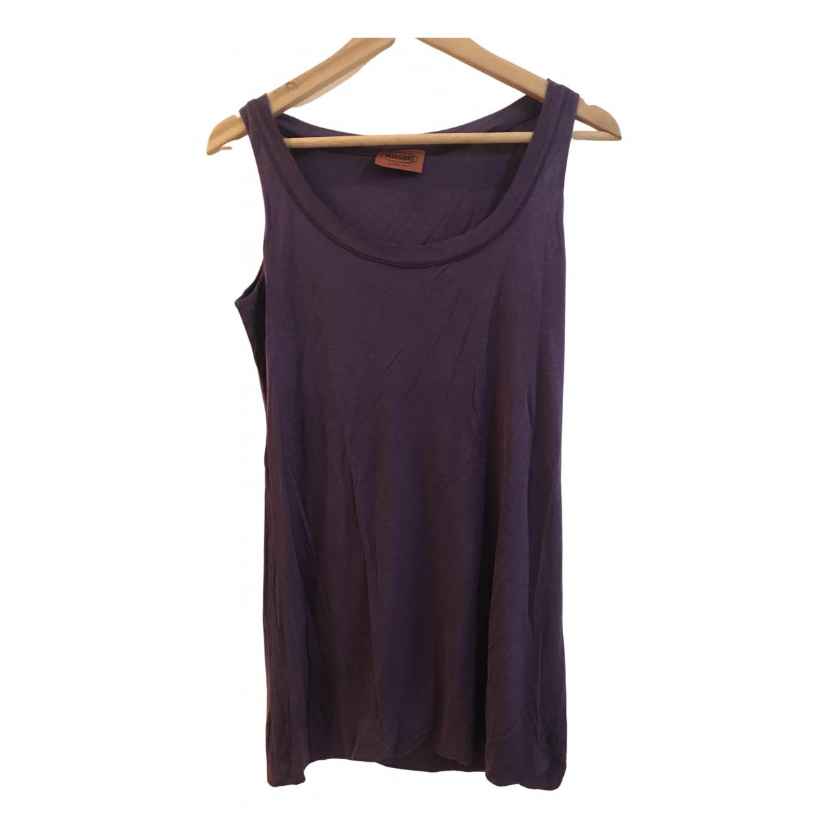 Missoni - Top   pour femme - violet
