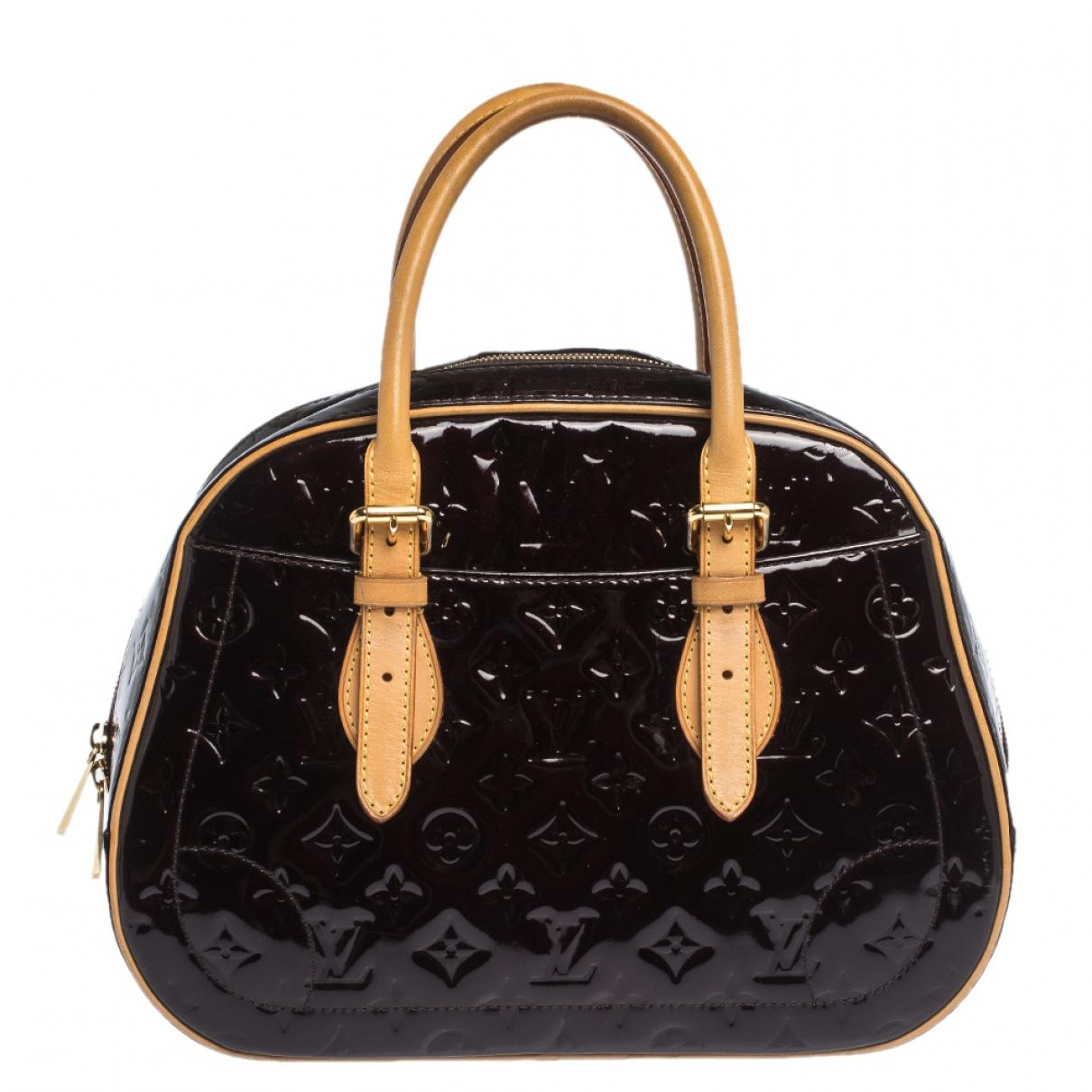 Louis Vuitton - Sac a main Summit  pour femme en cuir verni