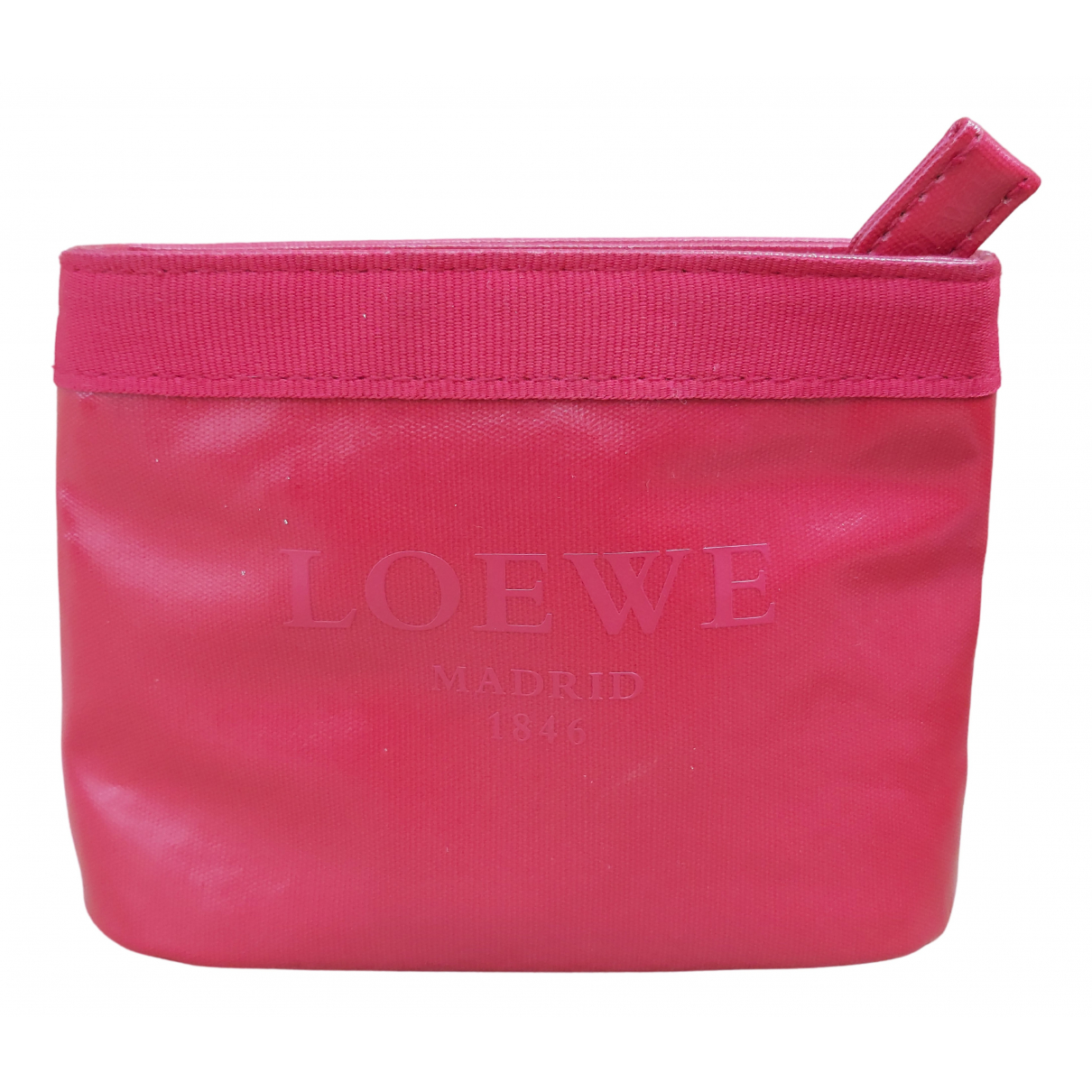 Loewe N Red Leather Purses, wallet & cases for Women N