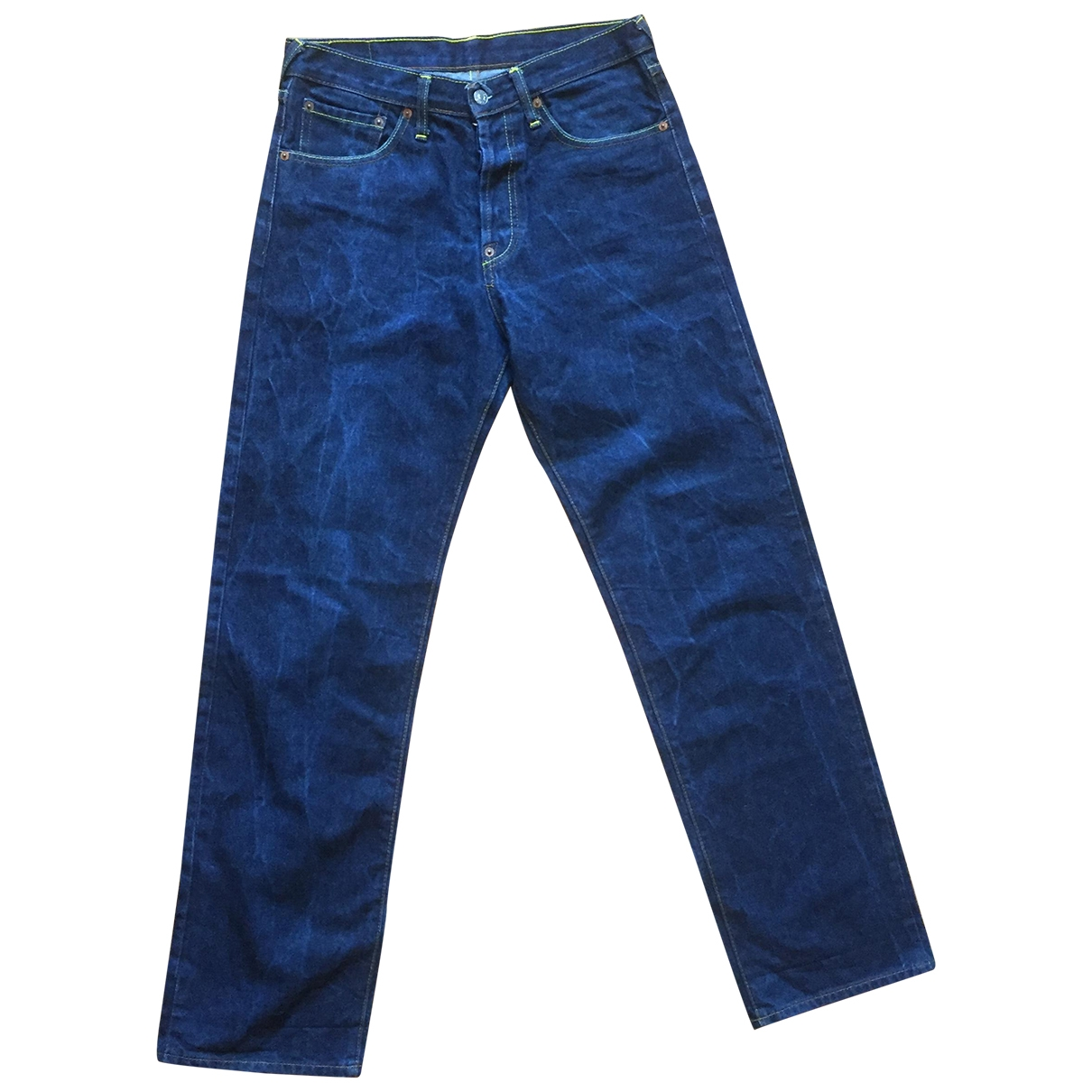 Evisu \N Blue Cotton Jeans for Women 32 US