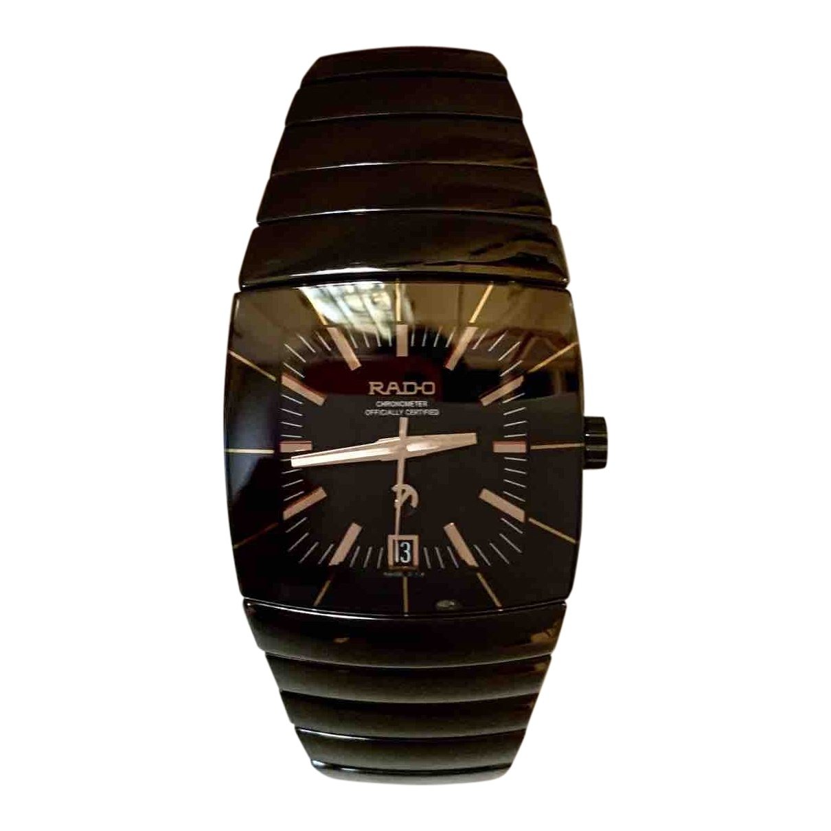 Rado \N Uhr in  Schwarz Keramik