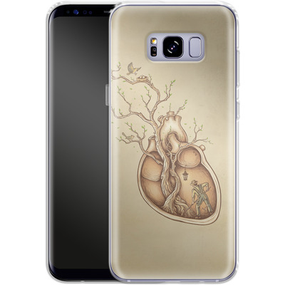 Samsung Galaxy S8 Plus Silikon Handyhuelle - Tree Of Life von Enkel Dika