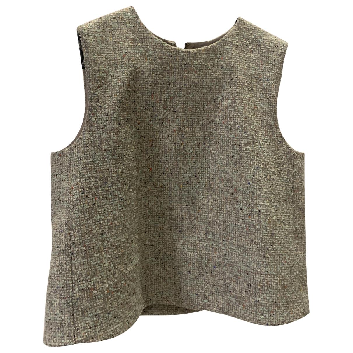 Cos \N Top in  Gruen Wolle