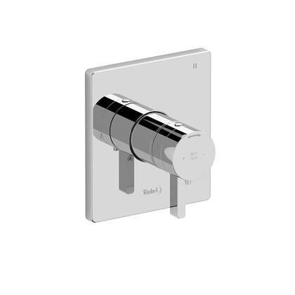 Paradox PXTQ45BG-EX 3-Way Thermostatic/Pressure Balance Coaxial Complete Valve  in Brushed