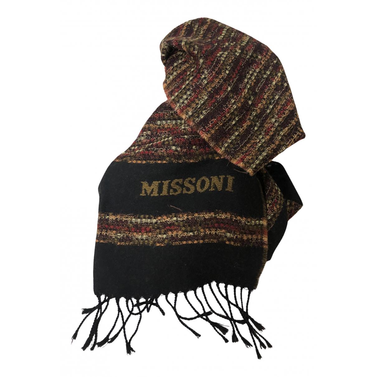 Missoni N Brown Wool scarf & pocket squares for Men N