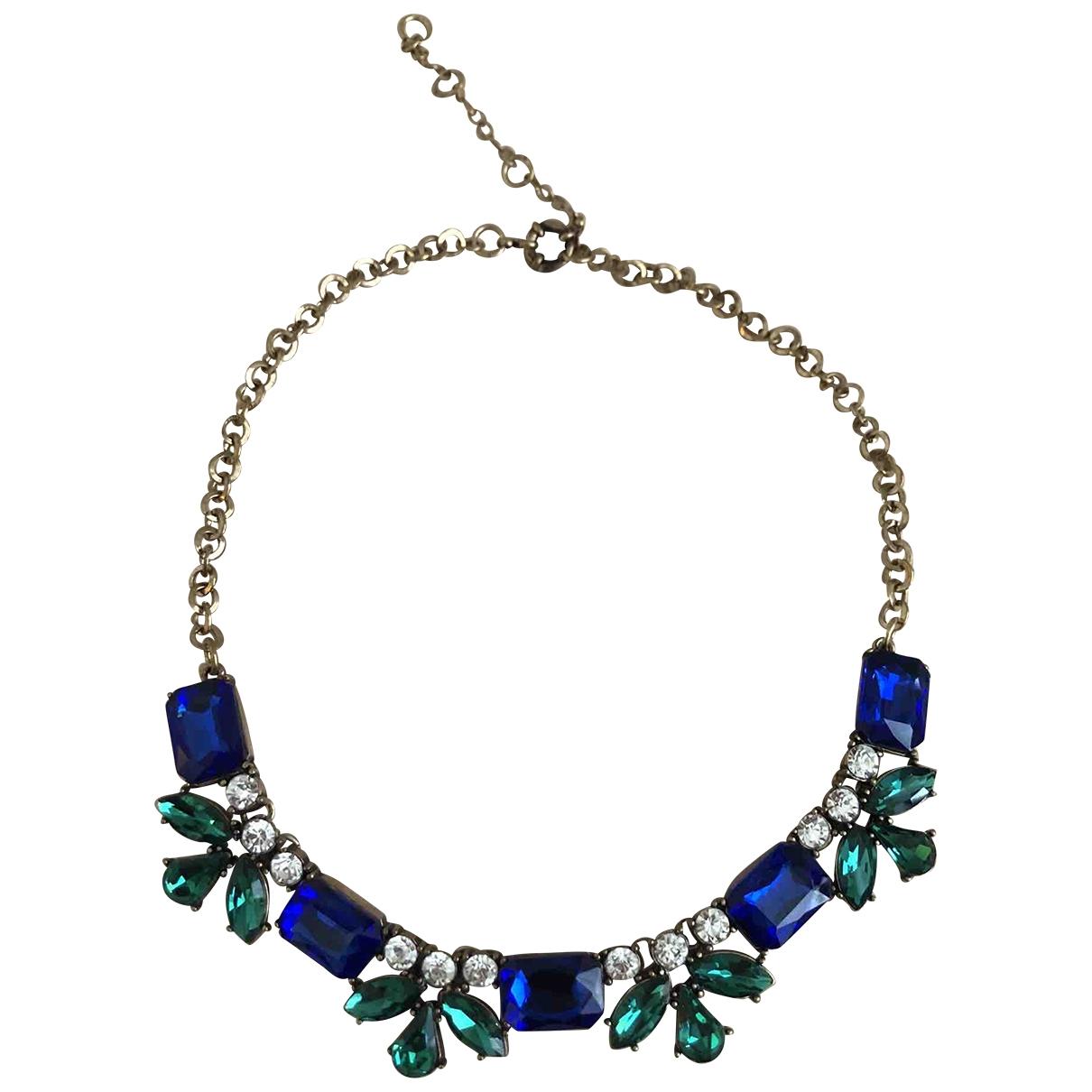 - Collier Art Deco pour femme en acier - multicolore