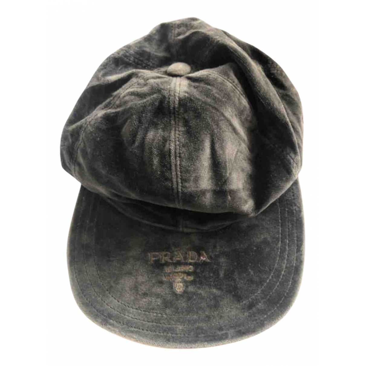 Prada N Grey Cotton hat for Women M International