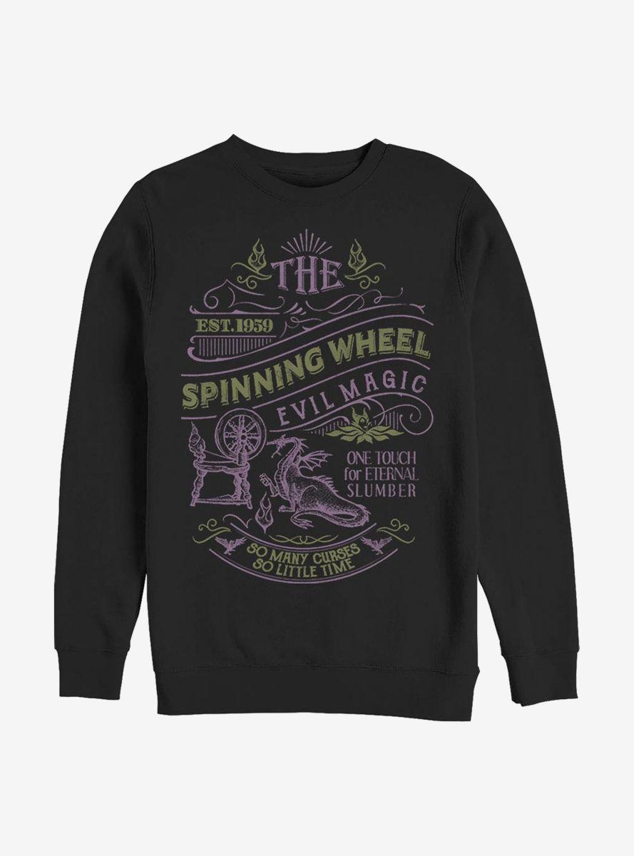 Disney Sleeping Beauty Spinning Wheel Magic Sweatshirt