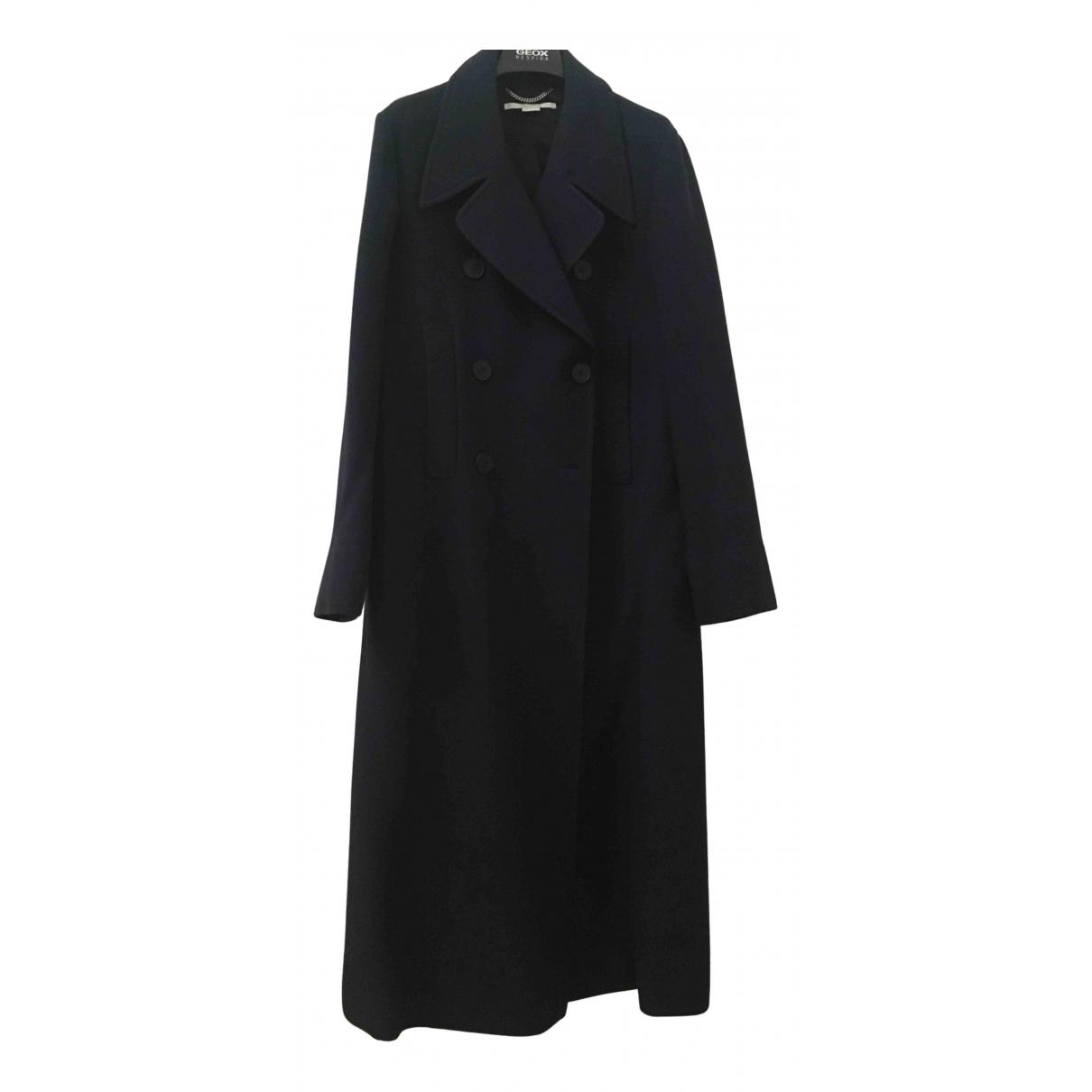 Stella Mccartney N Blue Wool coat for Women 42 IT