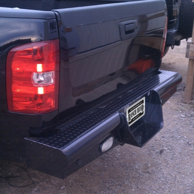 Ranch Hand Legend Series Rear Bumper (Black) - BBC080BLSL