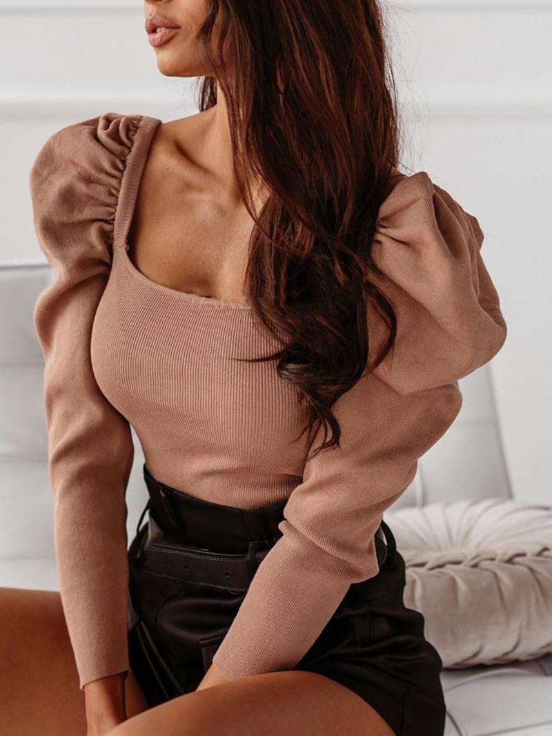 Ericdress Regular Thin Nine Points Sleeve Standard Womens Sweater