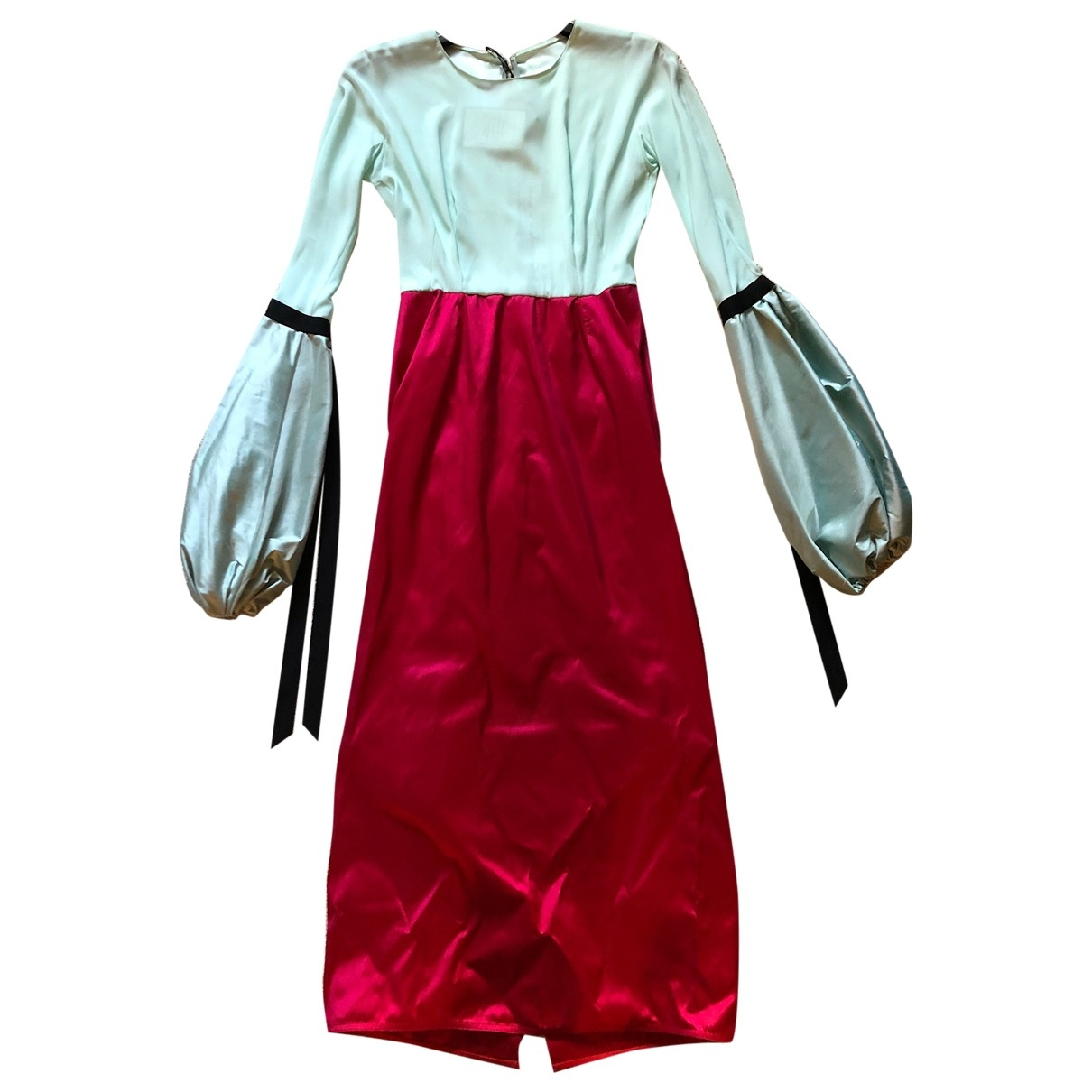 Emilio De La Morena \N Kleid in  Rot Seide