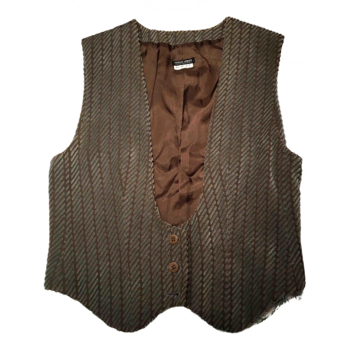 Giorgio Armani - Pull   pour femme en laine