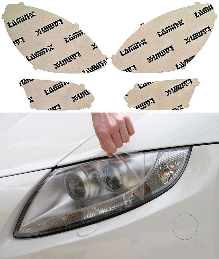 Chevrolet Equinox 16-17 Clear Headlight Covers Lamin-X CH047CL
