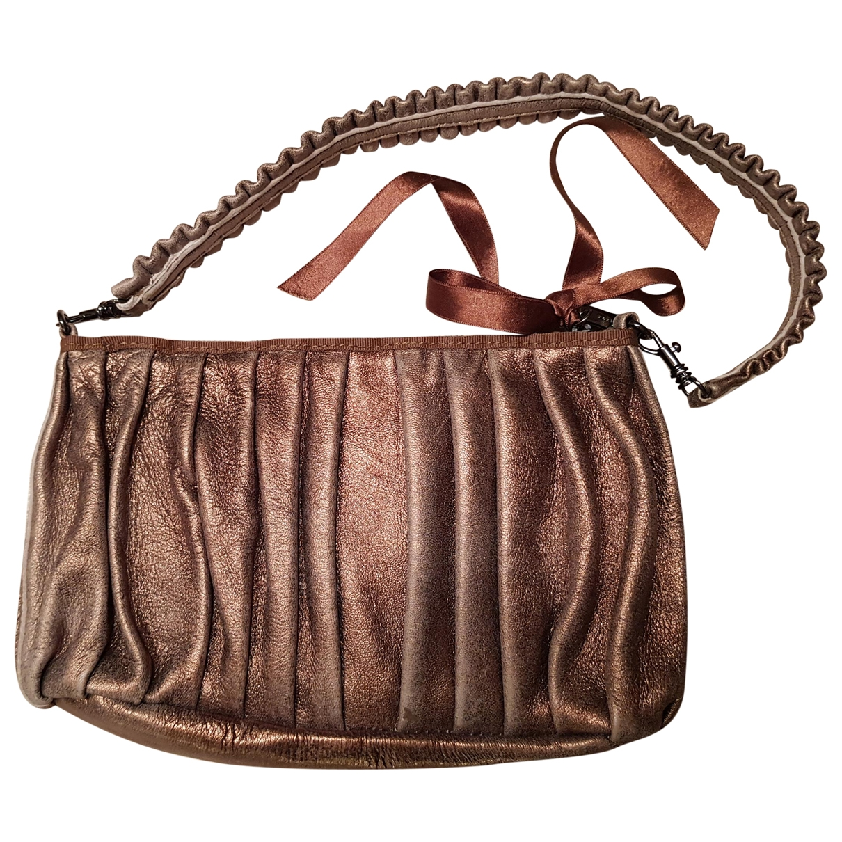 Repetto \N Brown Leather handbag for Women \N