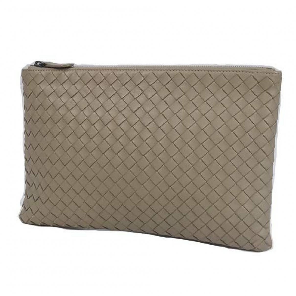Bottega Veneta \N Grey Leather Purses, wallet & cases for Women \N