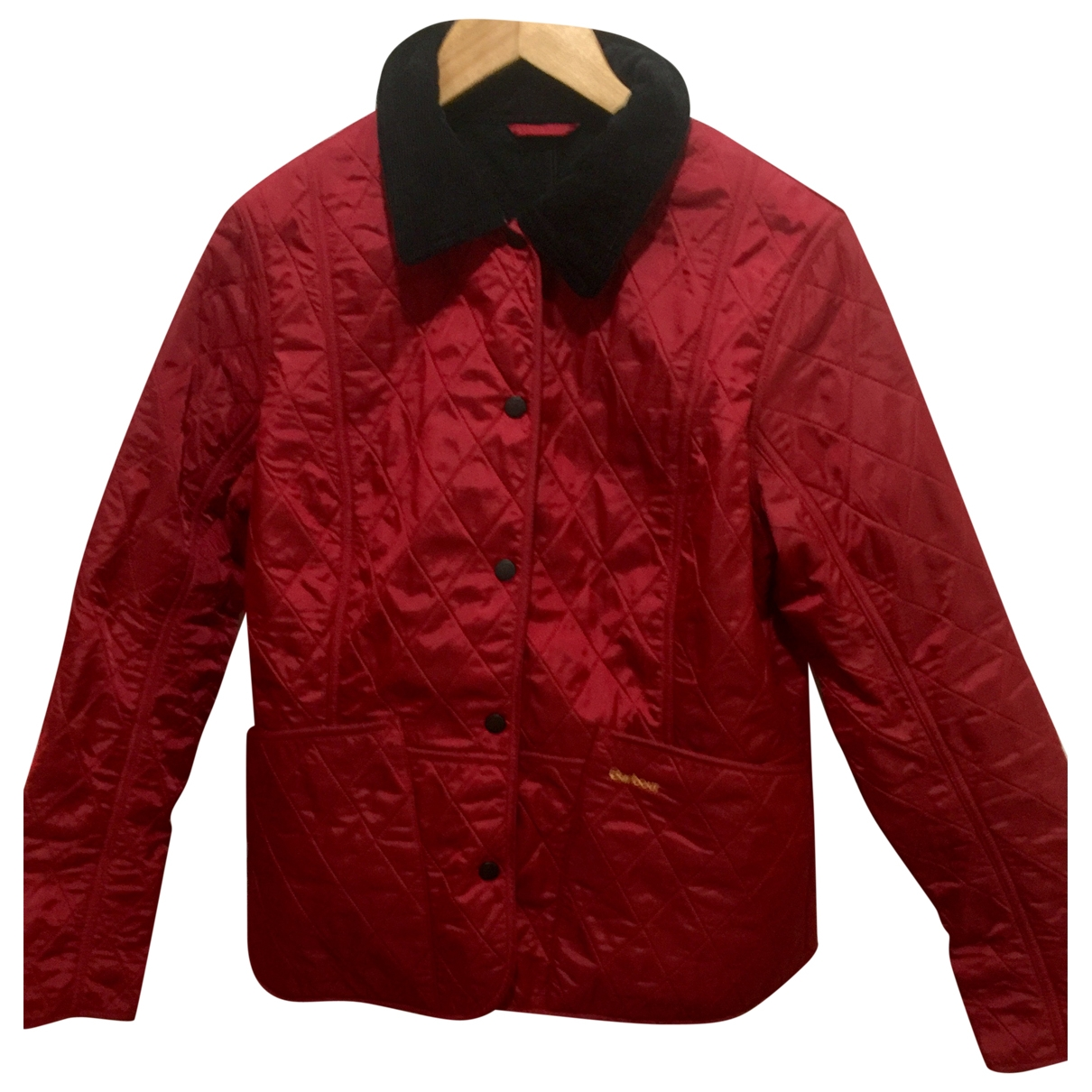 Barbour \N Jacke in  Rot Polyester
