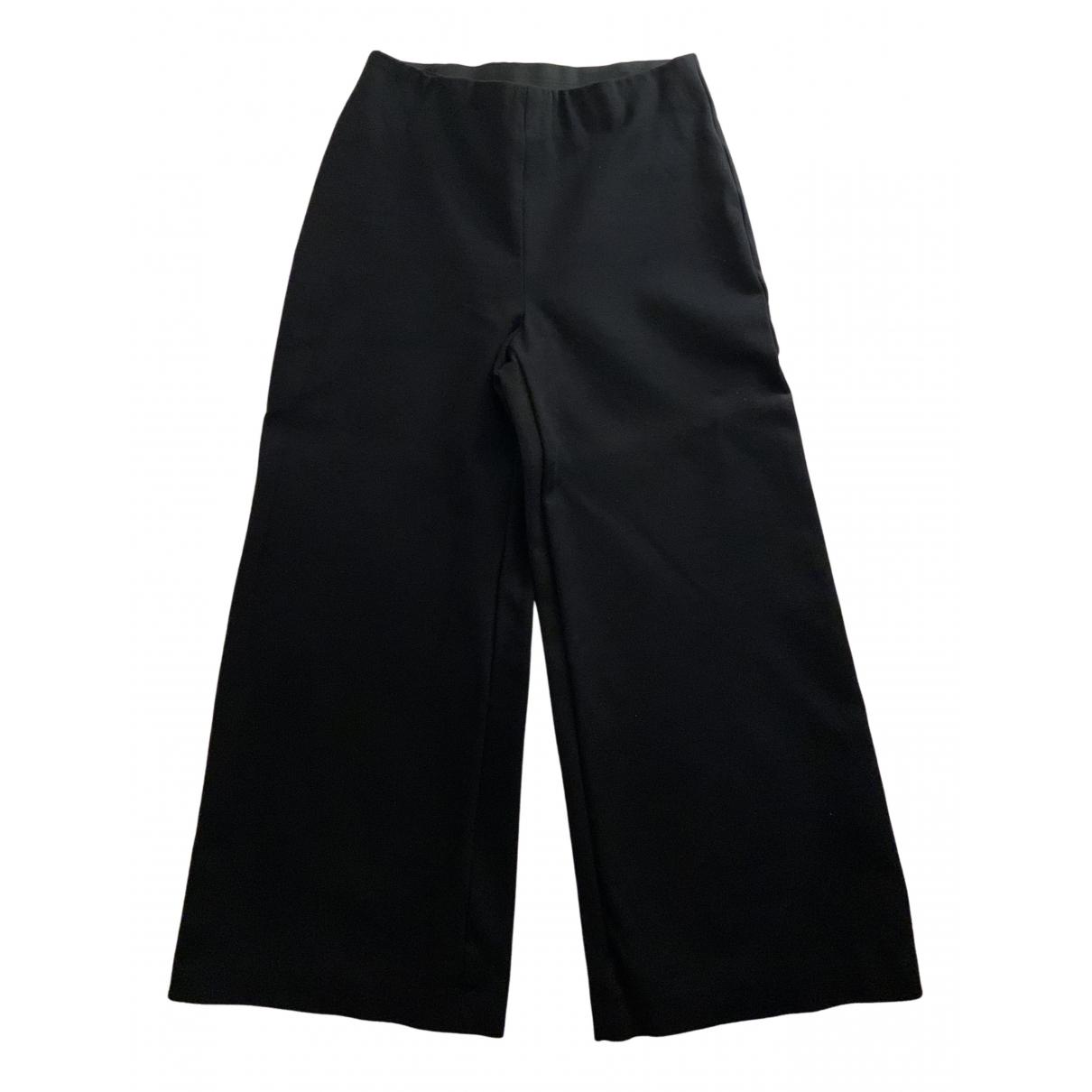 Jucca N Black Trousers for Women 38 IT