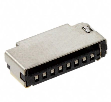Molex 47309 Series 8 Way Push/Pull Memory Card Connector With Solder Termination (4500)