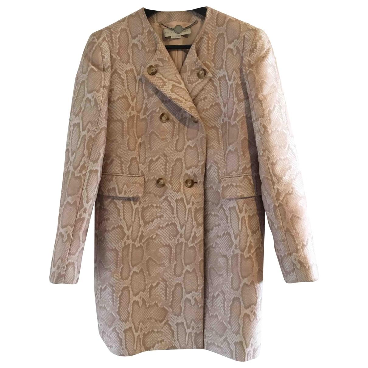 Stella Mccartney \N Pink Cotton coat for Women 44 IT