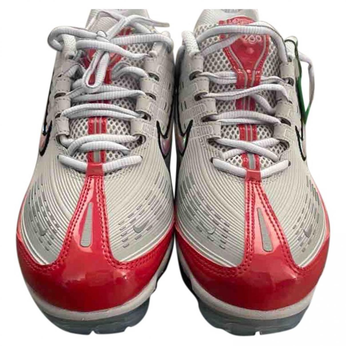 Nike - Baskets Air VaporMax pour homme en caoutchouc - rouge