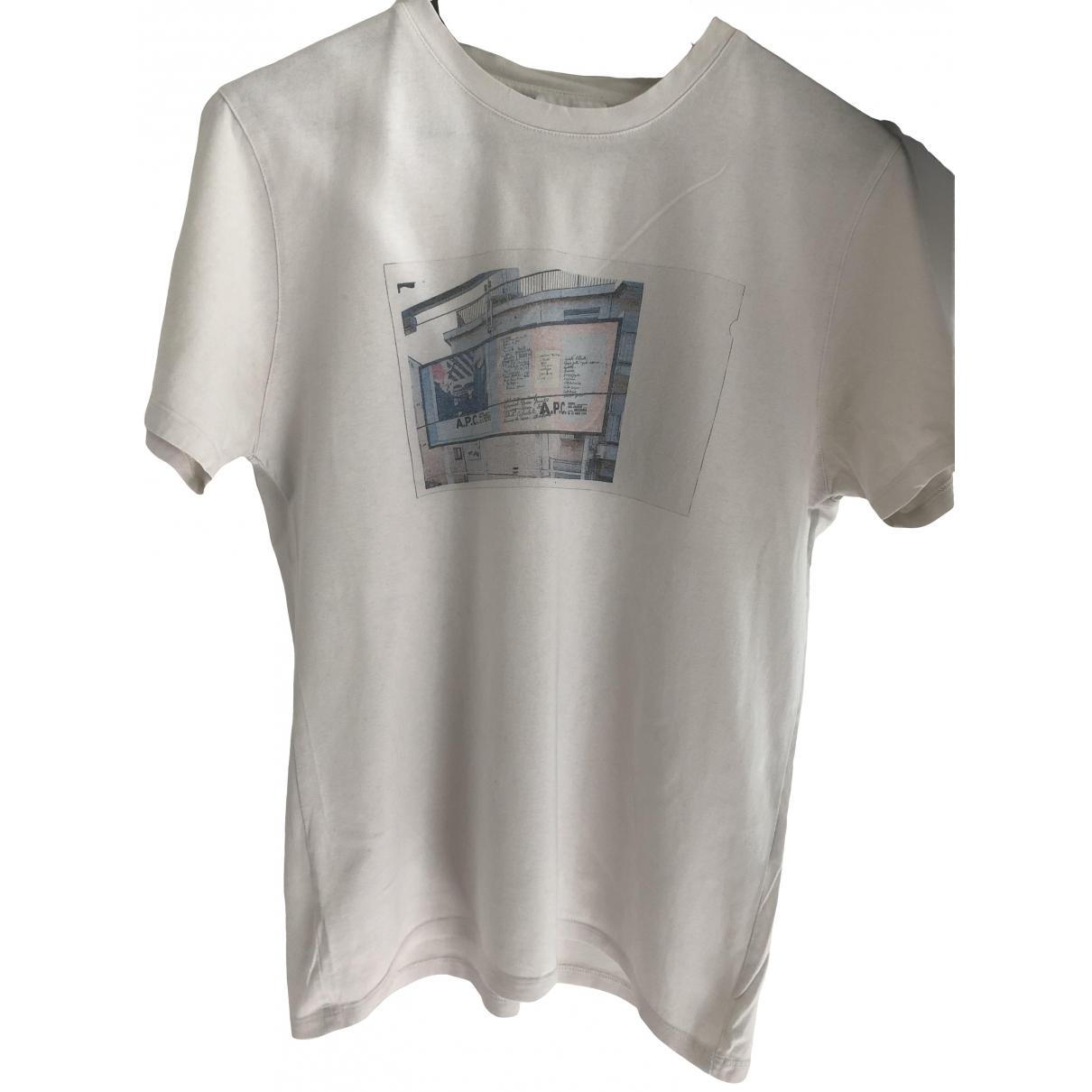 Apc \N White Cotton T-shirts for Men XS International