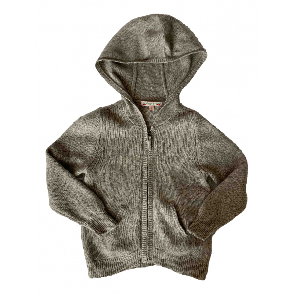 Bonpoint \N Grey Cashmere Knitwear for Kids 2 years - up to 86cm FR