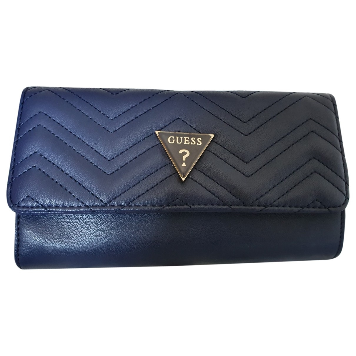 Guess \N Clutch in  Blau Polyester