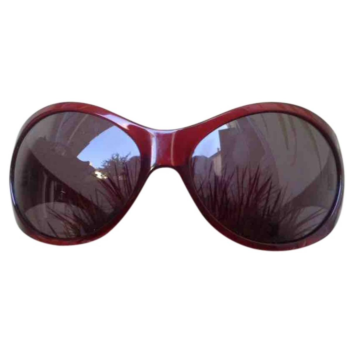 Miu Miu \N Burgundy Sunglasses for Women \N