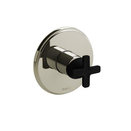 Momenti MMRD51XPNBK-SPEX Pressure Balance Complete Valve Pex with x Cross Handles  in Polished