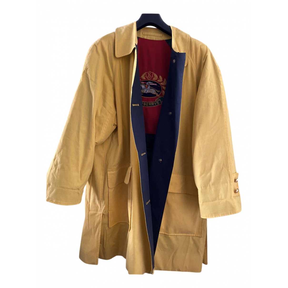 Burberry N Yellow Cotton coat for Women One Size International
