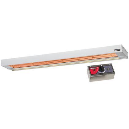 6155-48 48 Single Infrared Strip Warmer with 69008 Remote Control Box - 120V  1100W  in