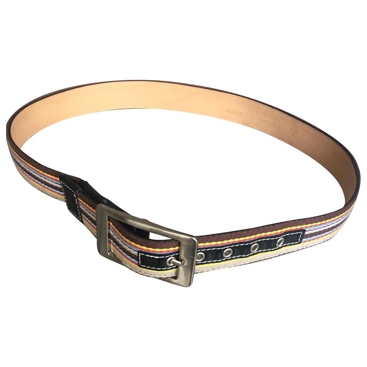 Cinturon de Lona Paul Smith