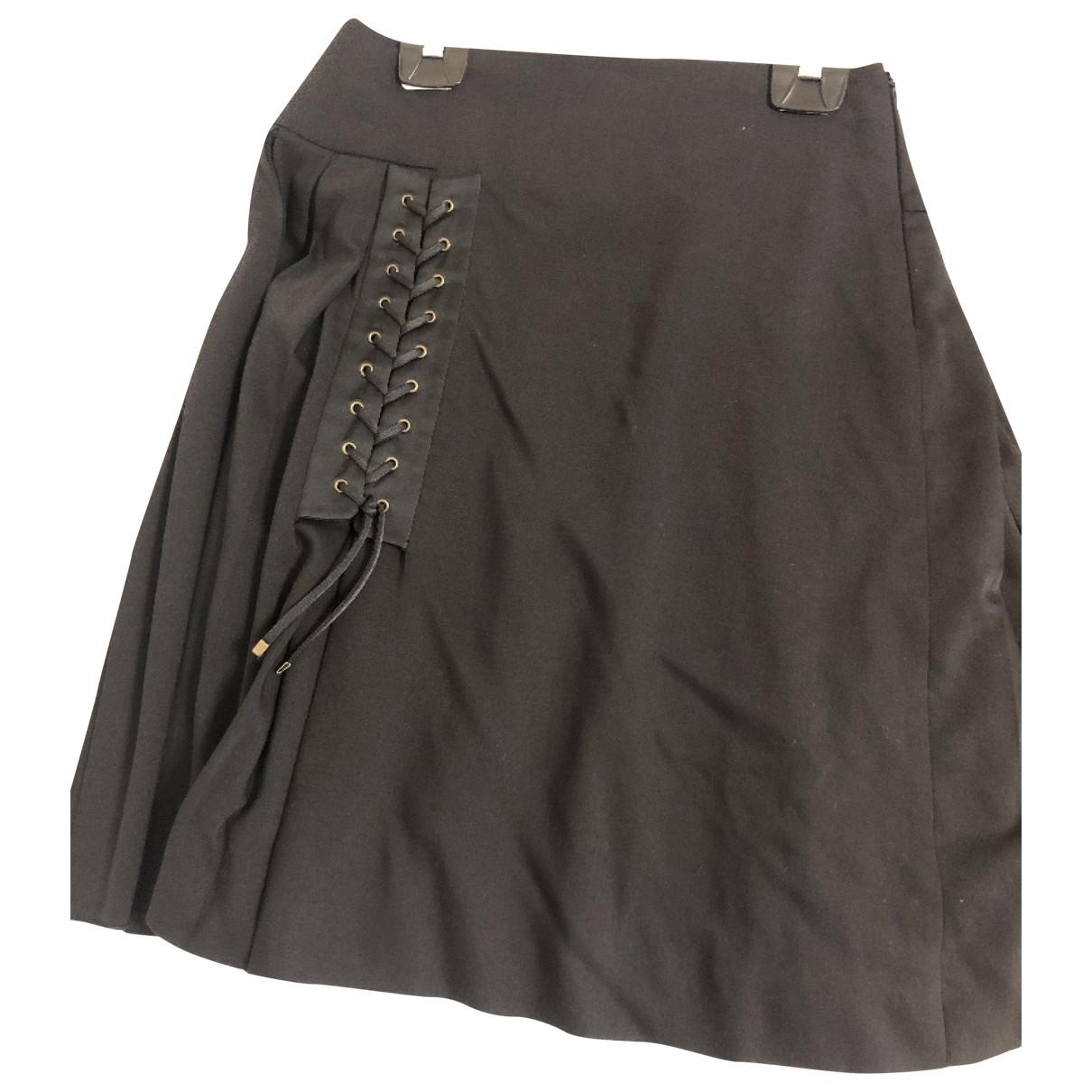 Sport Max \N Black Wool skirt for Women 42 IT