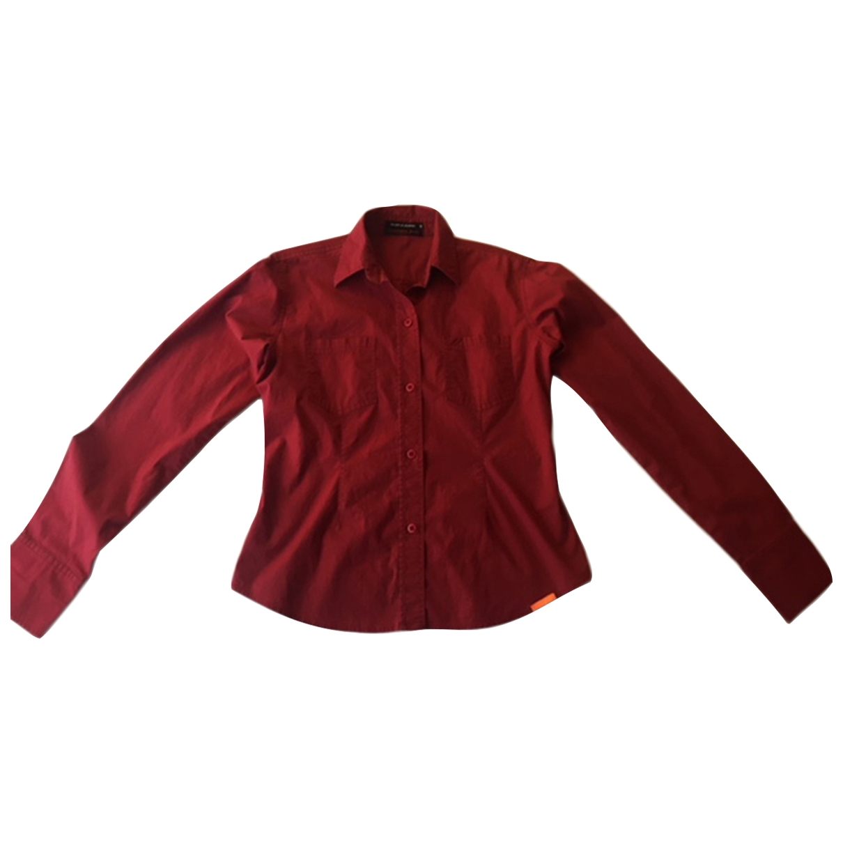 Dkny \N Red Cotton  top for Women 6 US