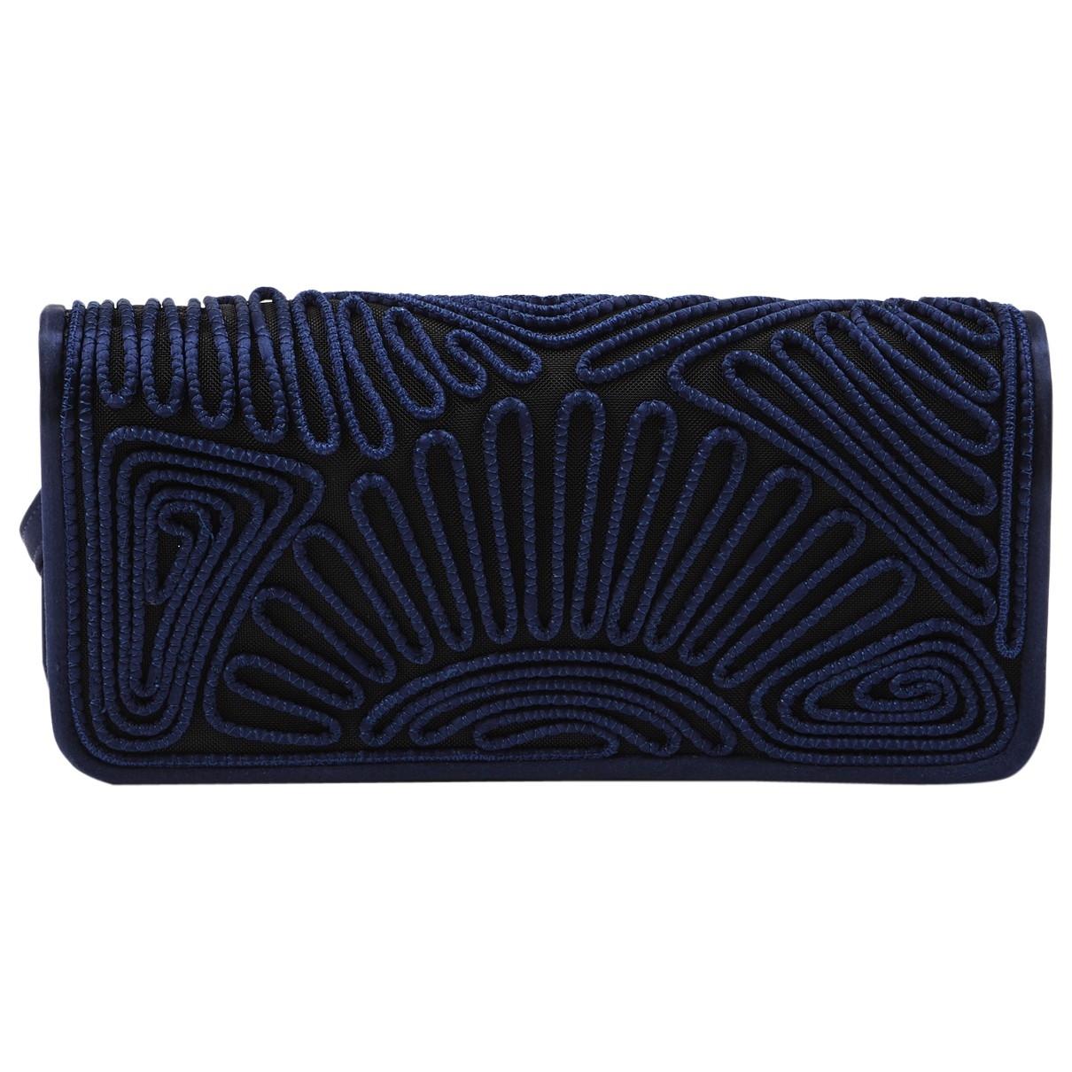 Alberta Ferretti \N Navy Cloth handbag for Women \N