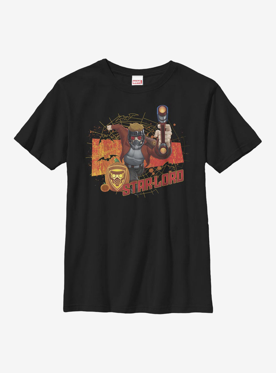 Marvel Guardians Of The Galaxy Star Lord Halloween Youth T-Shirt