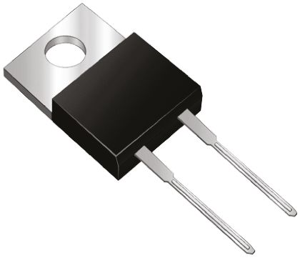 STMicroelectronics 1200V 5A, Silicon Junction Diode, 2-Pin TO-220AC STTH512D (5)