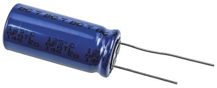 Vishay 4700μF Electrolytic Capacitor 25V dc, Through Hole - MAL214656472E3