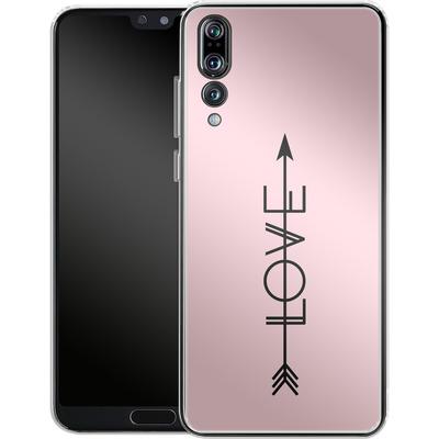 Huawei P20 Pro Silikon Handyhuelle - Love Arrow von Emanuela Carratoni