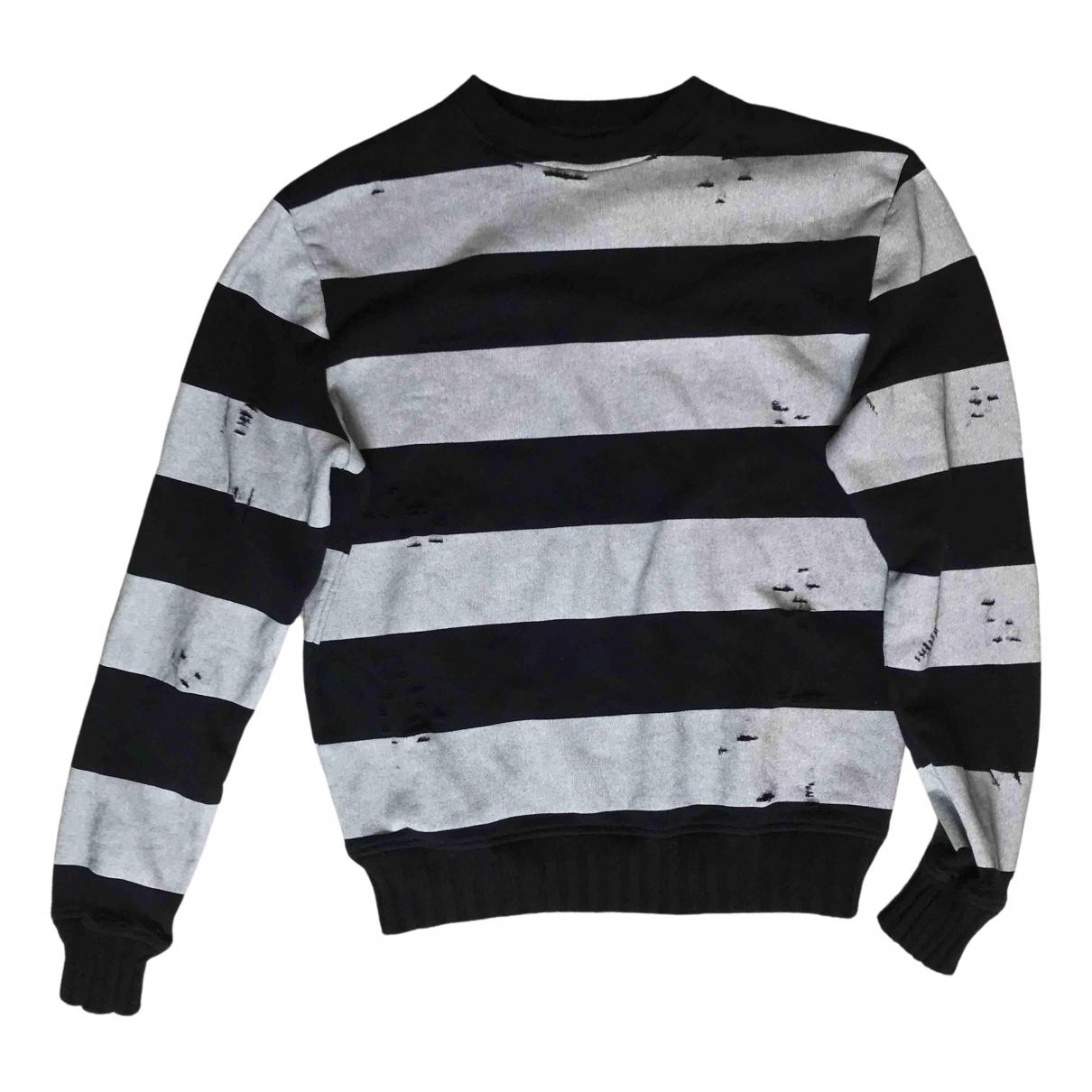 Amiri \N Pullover.Westen.Sweatshirts  in  Grau Baumwolle