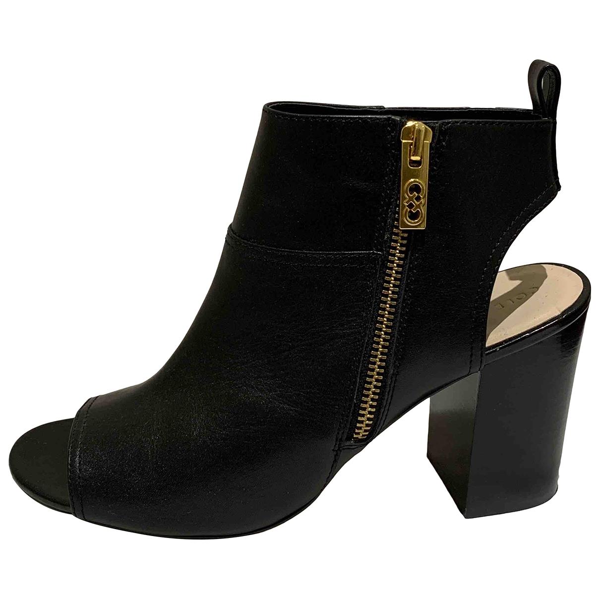 Cole Haan \N Black Leather Heels for Women 8.5 US