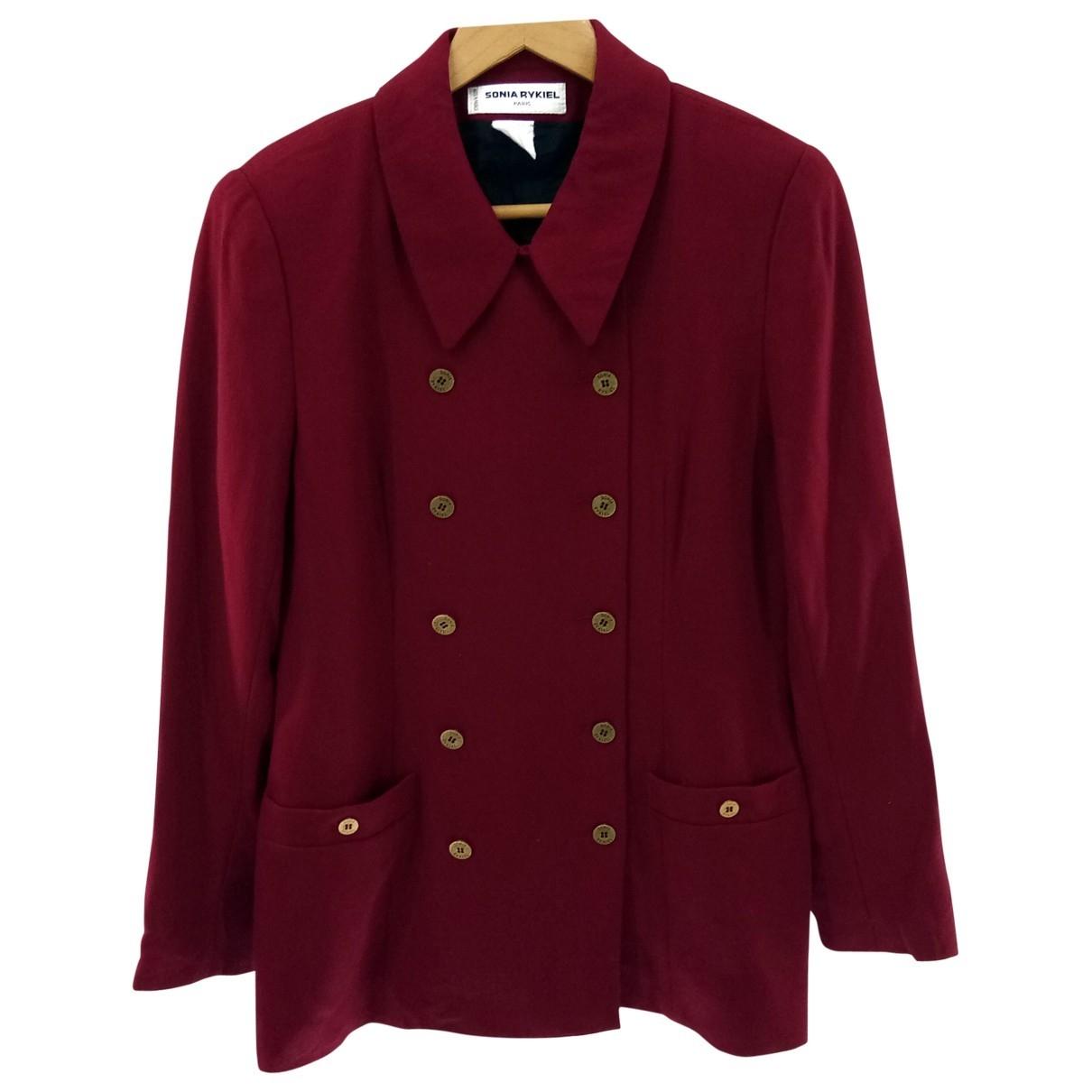 Sonia Rykiel - Manteau   pour femme en laine