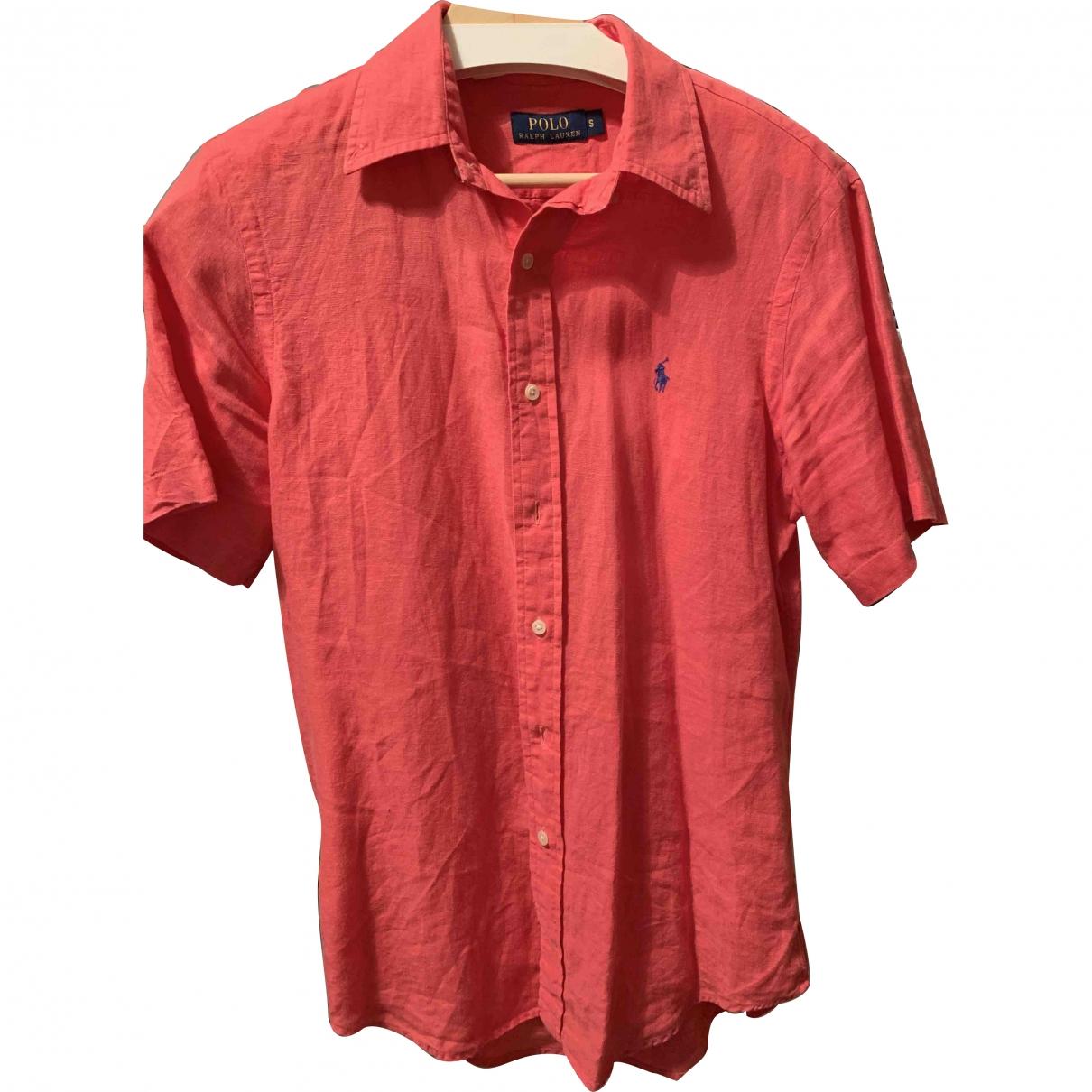 Polo Ralph Lauren \N Hemden in  Rot Leinen
